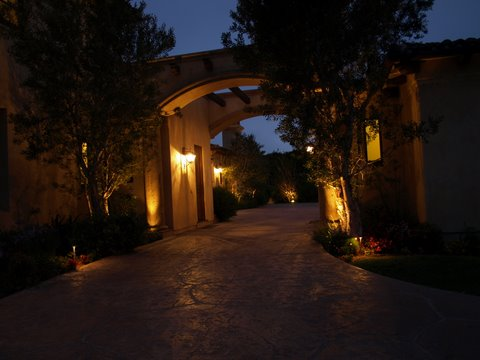 Agoura Hills Landscape Lighting Modern Landscape  Lighting
