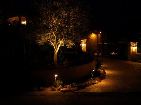 Agoura Hills Landscape Lighting Driveway