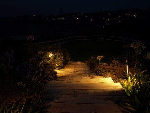 Agoura Hills Landscape Lighting Steps