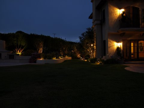 Agoura Hills Landscape Lighting Patio Garden